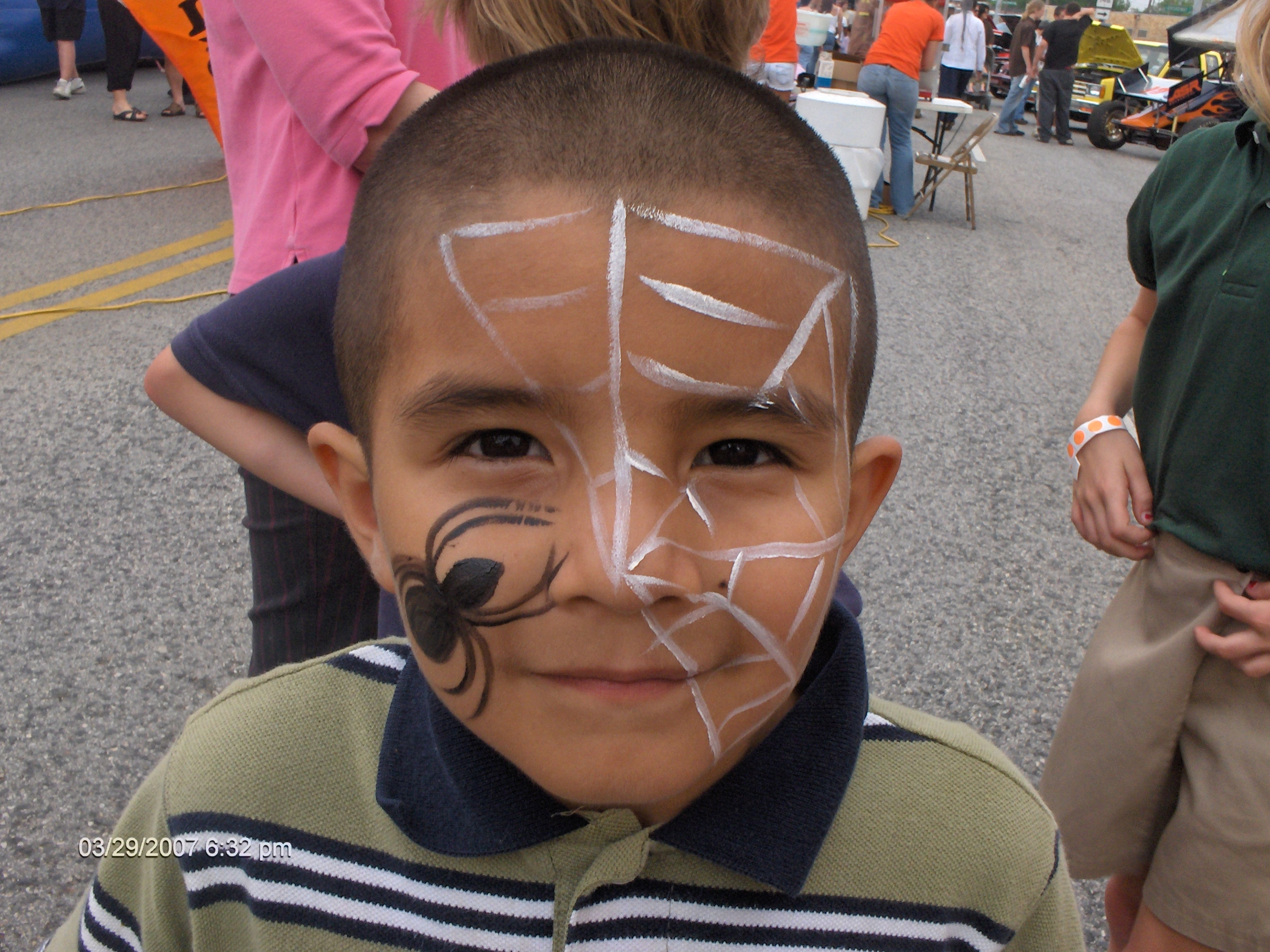 Face Painting Full Faces To Hand Arm Or Cheek Art